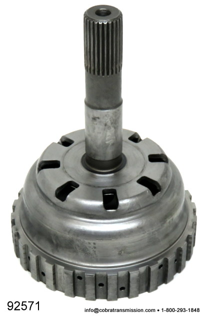 A604, A606 Clutch Hub, Underdrive w/ Solid Shaft