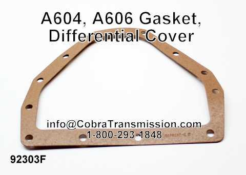 A604, A606 Gasket, Differential Cover
