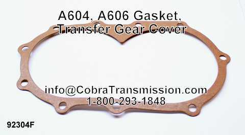 A604, A606 Gasket, Transfer Gear Cover