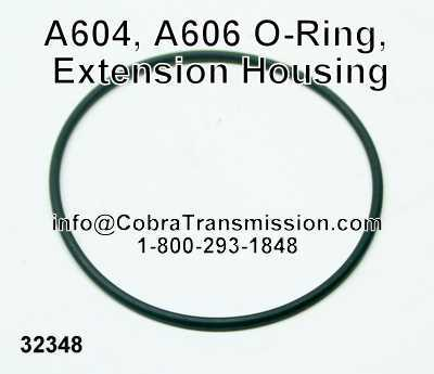 A604, A606 O-Ring, Extension Housing