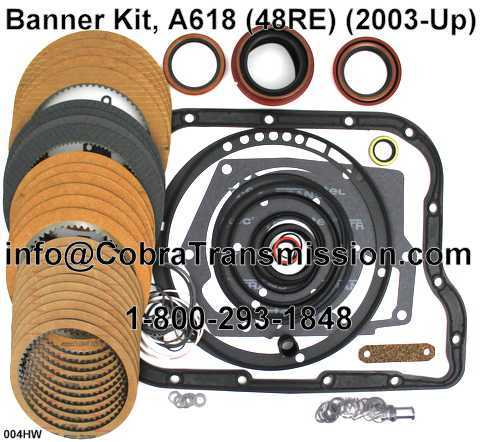 Banner Kit, A618 (48RE) (2003-Up)