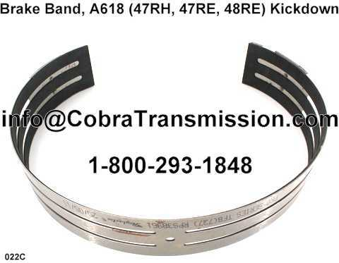 Brake Band, A618 (47RH, 47RE, 48RE) Kickdown