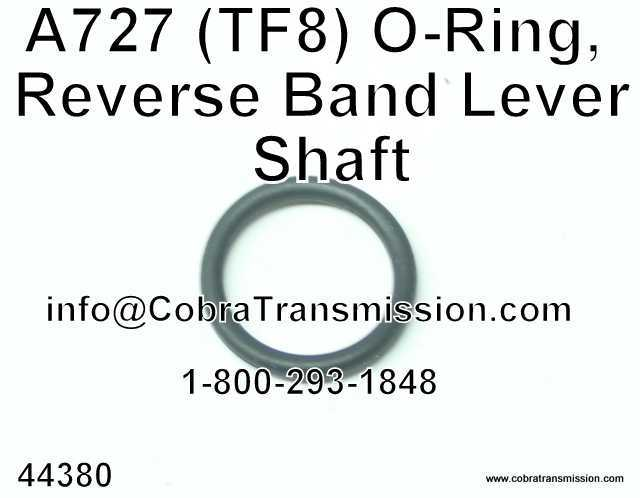 A727 (TF8) O-Ring, Reverse Band Lever Shaft