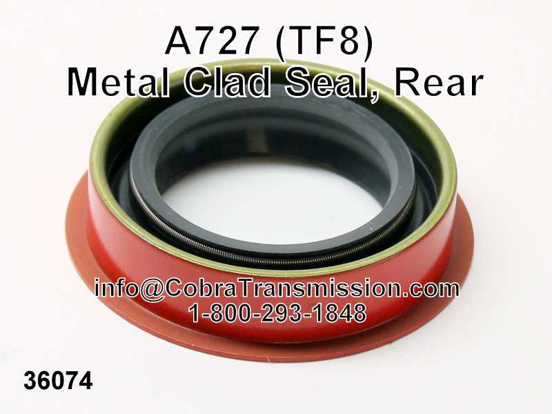 A727 (TF8) Metal Clad Seal, Rear