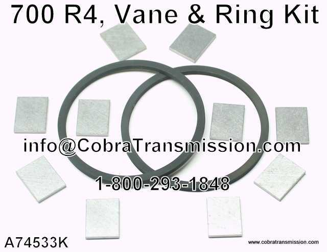 700-R4, Vane & Ring Kit