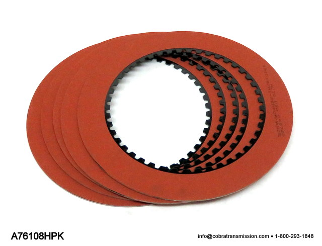AOD, AODE, 4R70 Series High Performance Reverse Friction Kit