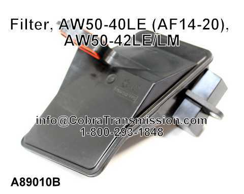 Filter, AW50-40LE (AF14-20), AW50-42LE/LM
