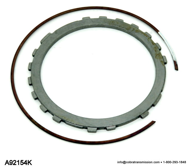 A604, A606 Pressure Plate, Low/ Reverse Kit