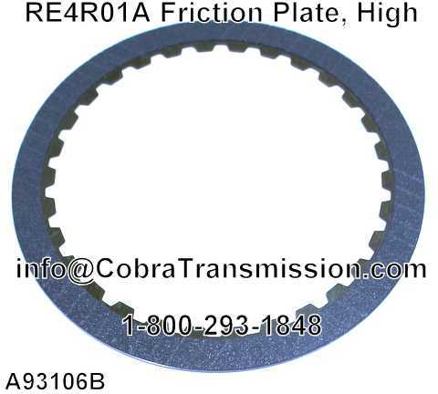 RE4R01A Friction Plate, High
