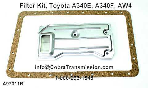 Filter Kit, Toyota A340E, A340F, AW4