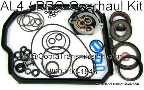 Renault DPO (AL4) Overhaul Kit w/o Pistons and CaseCover Gaskets