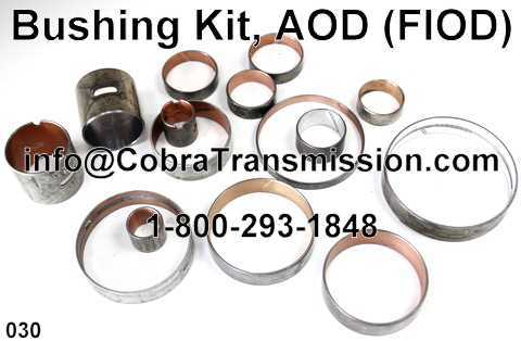 Bushing Kit, AOD (FIOD)