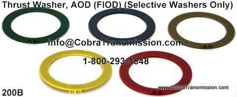 Thrust Washer, AOD (FIOD)