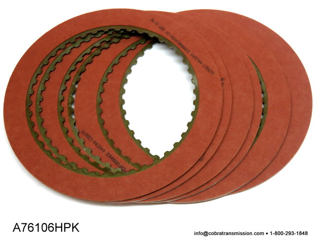 AOD, AODE, 4R70 Series High Performance Direct Friction Plate