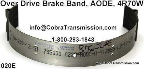 Over Drive Brake Band, AODE, 4R70W