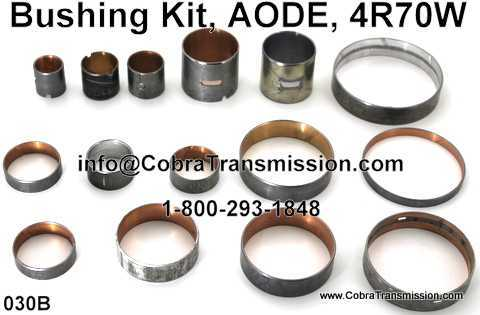 Bushing Kit, AODE, 4R70W