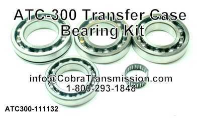 ATC-300 Transfer Case Bearing Kit