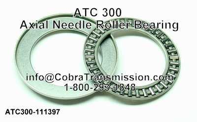 ATC 300 Axial Needle Roller Bearing