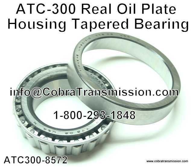 ATC-300 Real Oil Plate Housing Tapered Bearing