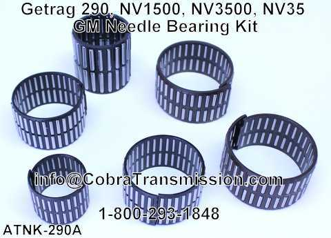 Getrag 290, NV1500, NV3500, NV35 GM Needle Bearing Kit