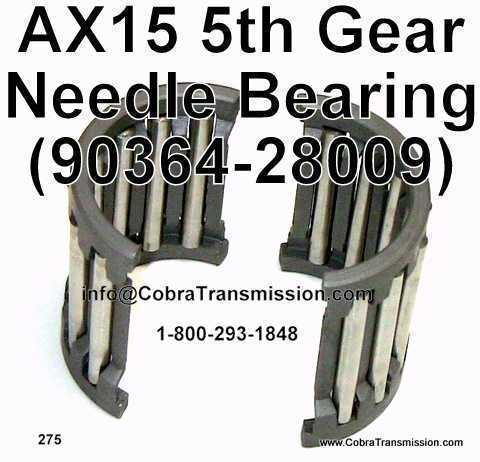 AX15 5th Gear Needle Bearing
