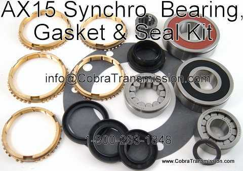AX15 Synchro & Bearing, Gasket and Seal Kit