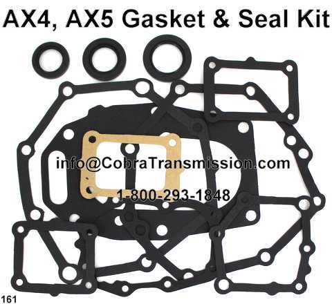 AX4, AX5 Gasket & Seal Kit