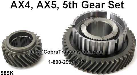 AX4, AX5, 5th Gear Set