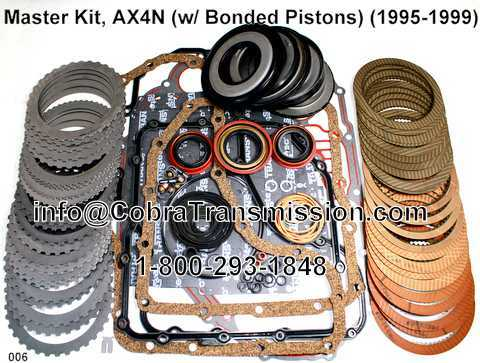Master Kit, AX4N (w/ Bonded Pistons) (1995-1999)