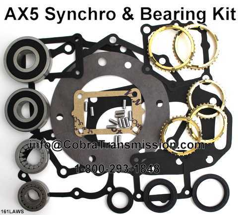 AX5 Synchro, Bearing, Gasket and Seal Kit