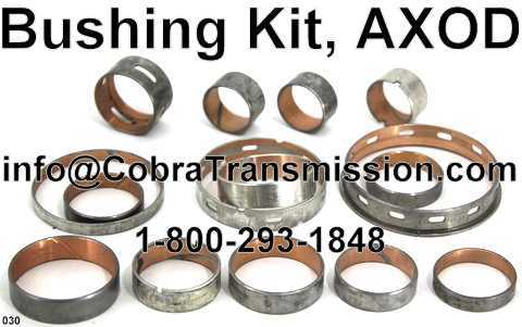 Bushing Kit, AXOD