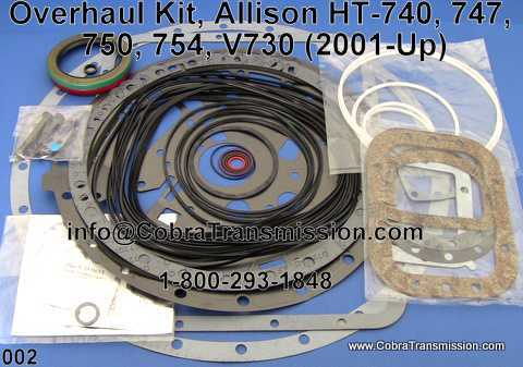 Overhaul Kit, Allison HT-740, 747, 750, 754, V730 (2001-Up)