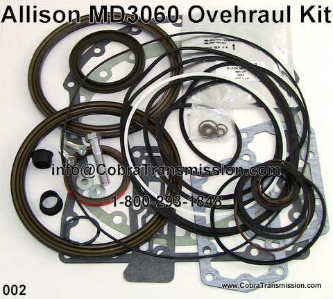 Overhaul Kit, Allison World MD3060, MD3560 (29535942) (2001-Up)