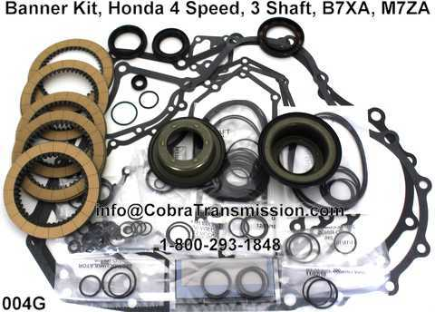 Banner Kit, Honda 4 Speed, 3 Shaft, B7XA, M7ZA
