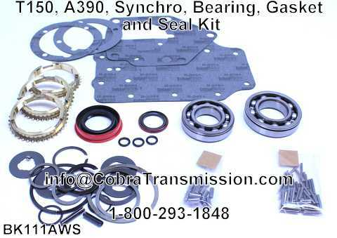 T150, A390, Synchro, Bearing, Gasket and Seal Kit