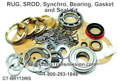 RUG, SROD, Synchro, Bearing, Gasket and Seal Kit