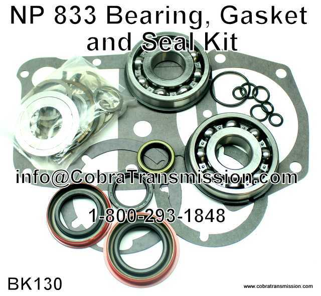 NP 833 Bearing, Gasket and Seal Kit
