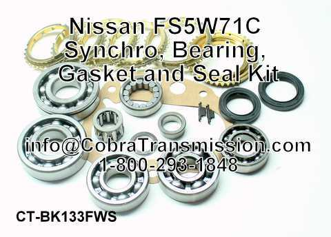 Nissan FS5W71C Synchro, Bearing, Gasket and Seal Kit