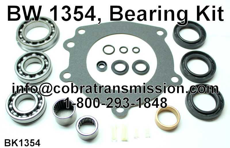 BW 1354, Bearing Kit