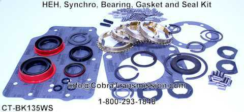 HEH, Synchro, Bearing, Gasket and Seal Kit