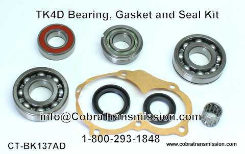 TK4D Bearing, Gasket and Seal Kit