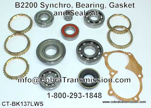 B2200 Synchro, Bearing, Gasket and Seal Kit