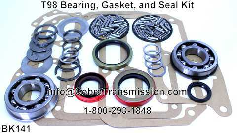 T98 Bearing, Gasket, and Seal Kit