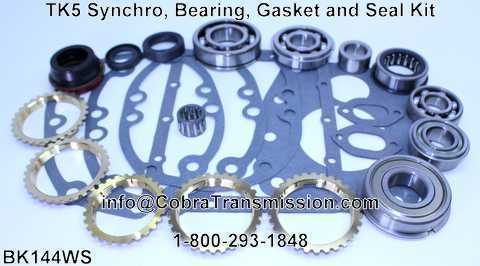 TK5 Synchro, Bearing, Gasket and Seal Kit
