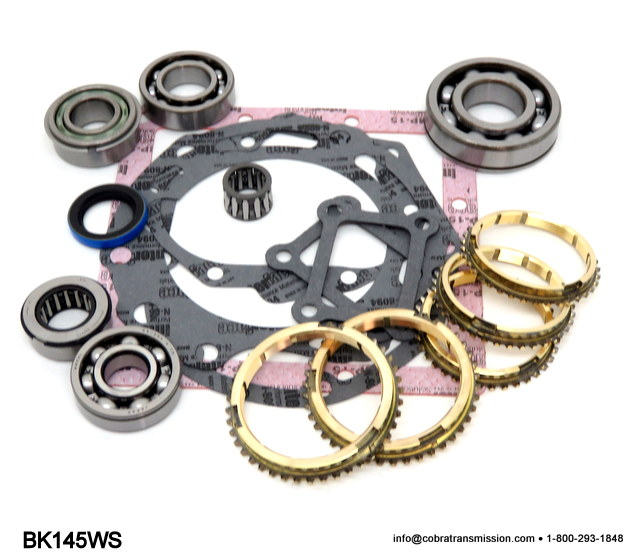 Mitsubishi D50,Synchro, Bearing, Gasket and Seal Kit