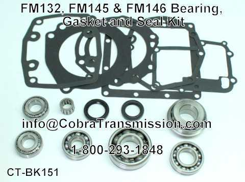 FM132, FM145 & FM146 Bearing, Gasket and Seal Kit