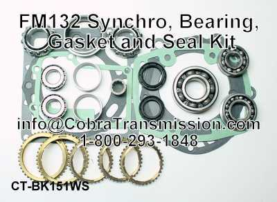 FM132 Synchro, Bearing, Gasket and Seal Kit