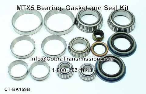 MTX5 Bearing, Gasket and Seal Kit