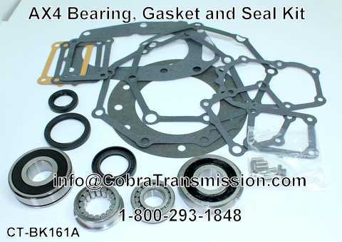 AX4 Bearing, Gasket and Seal Kit