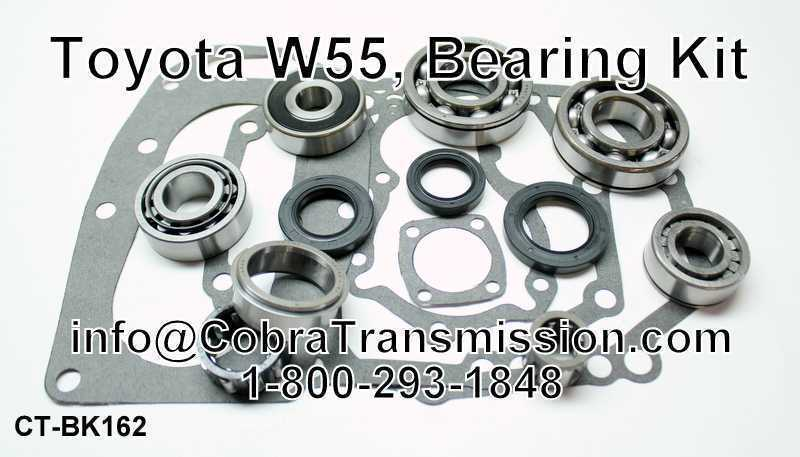 Toyota W55, Bearing, Gasket and Seal Kit